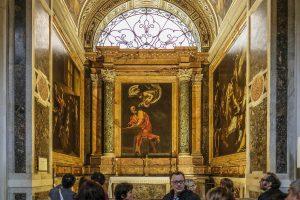 three Caravaggio's